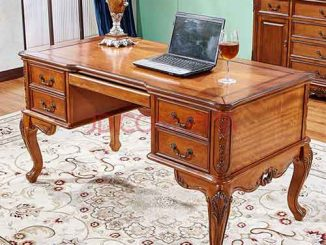 Mua bàn gỗ làm việc tại nhà giá rẻ cần chú ý những khía cạnh gì?