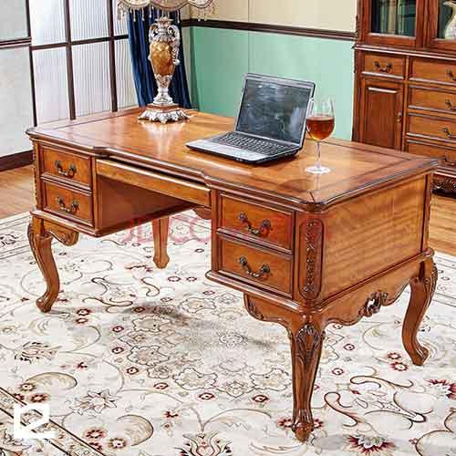 Chất liệu bàn gỗ làm việc tại nhà giá rẻ