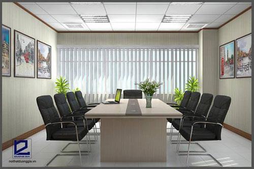 Tiêu chuẩn thiết kế phòng họp nhỏ cần đáp ứng tính thẩm mỹ