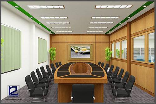 Tiêu chuẩn thiết kế phòng họp nhỏ cần đem lại giá trị phong thủy