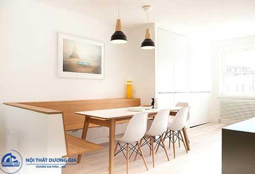 Những gợi ý trong cách trang trí phòng ăn đơn giản nhưng đẹp