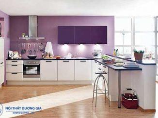 Bật mí cách trang trí phòng bếp nhỏ đẹp, tiện nghi, ấm cúng