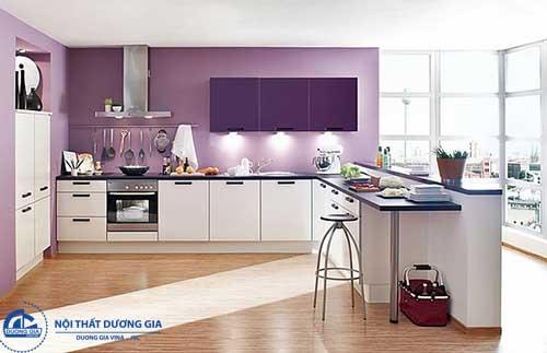 Chọn lựa phong cách trang trí phòng bếp thích hợp