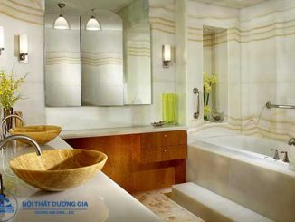 Chọn lựa màu sắc thích hợp khi trang trí cho phòng tắm nhỏ hẹp, đẹp, hiện đại
