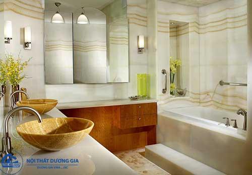 Có rất nhiều cách trang trí phòng tắm nhỏ để bạn tham khảo