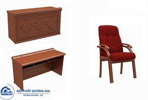 Báo giá bàn ghế gỗ hội trường giúp việc mua bán thuận tiện hơn