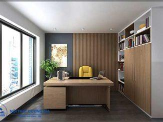 Biết cách bố trí phòng làm việc của giám đốc sẽ tạo nên không gian tiện nghi, sang trọng