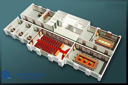 Công ty thiết kế nội thất văn phòng Hà Nội uy tín tạo nên giá trị tuyệt vời