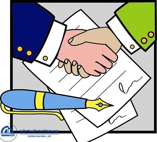 Kí kết hợp đồng thi công cửa gỗ đảm bảo sự thành công trong vấn đề hợp tác