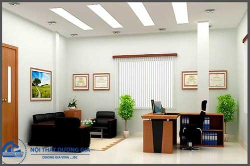 Phòng giám đốc nhỏ đẹp GD-DG14 view 2