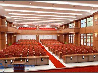 Mẫu thiết kế nội thất hội trường đẹp HT-DG17