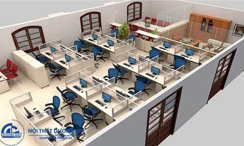 Có nhiều khách hàng đến mua nội thất văn phòng
