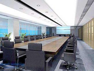 Thiết kế lắp đặt phòng họp trực tuyến phải chú trọng yếu tố ánh sáng