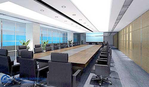 Thiết kế phòng họp trực tuyến phải chú trọng yếu tố ánh sáng