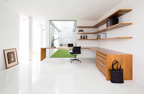 Chọn màu sắc cho thiết kế nội thất phòng làm việc nhỏ đẹp tại nhà