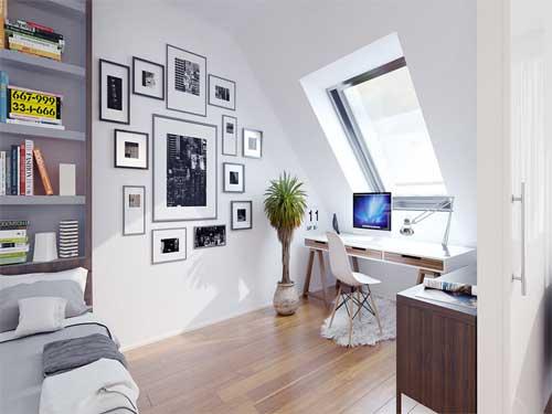 Chọn nội thất cho thiết kế phòng làm việc nhỏ đẹp tại nhà