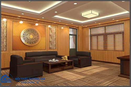 Thiết kế phòng làm việc của tổng giám đốc GD-DG12