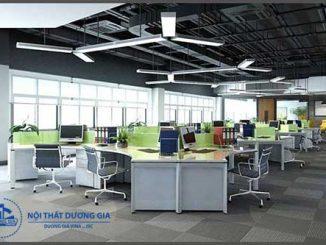 Mẫu thiết kế văn phòng làm việc hiện đại VP-DG22