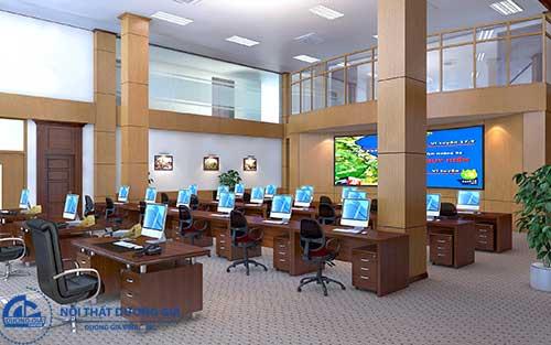 Công năng - Tiêu chuẩn thiết kế văn phòng làm việc hỗ trợ công việc tốt nhất