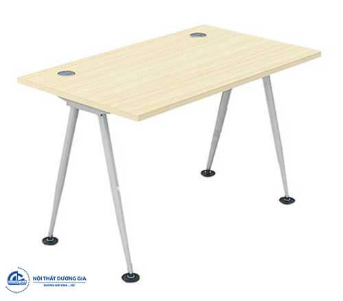 Mẫu bàn văn phòng giá rẻ, thiết kế đơn giản HR120C8