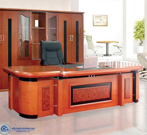 Màu sắc của bộ bàn ghế làm việc Giám đốc - bàn DT3212V7