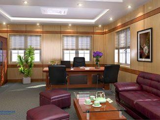 3 mẹo trang trí nội thất phòng Giám đốc đẹp, sang trọng