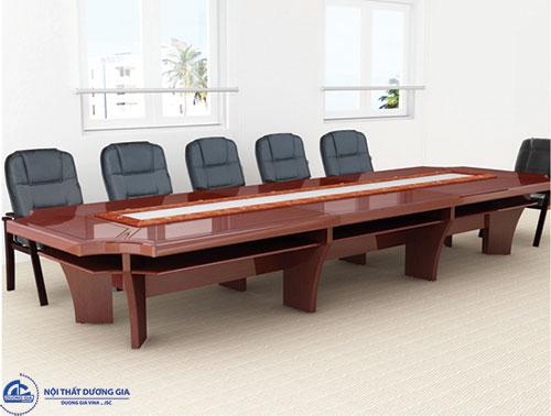 Giá bộ bàn ghế phòng họp sang trọng mẫu 3