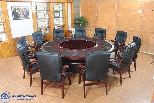 Giá bộ bàn ghế họp văn phòng cao cấp mẫu 5