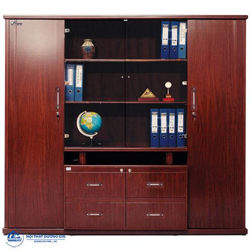 Tủ gỗ đựng hồ sơ tài liệu văn phòng tốt cho sức khỏe và phong thủy