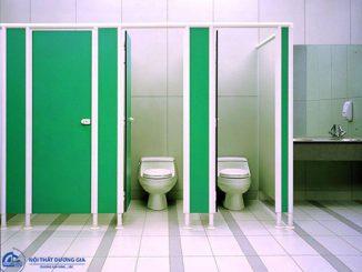 Đơn vị báo giá thi công vách ngăn nhà vệ sinh rẻ nhất Hà Nội