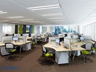 Thiết kế văn phòng 100m2 và 15m2 có điểm gì khác nhau?