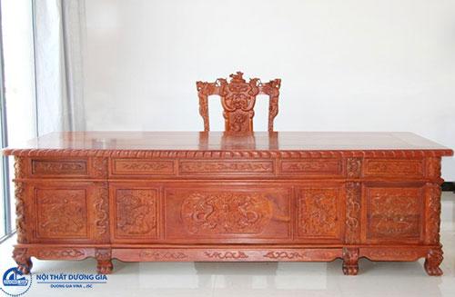 Chất lượng, độ bền của bàn Giám đốc bằng gỗ tự nhiên