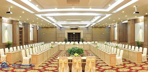 Thiết kế nội thất phòng hội thảo cần chú trọng âm thanh, ánh sáng