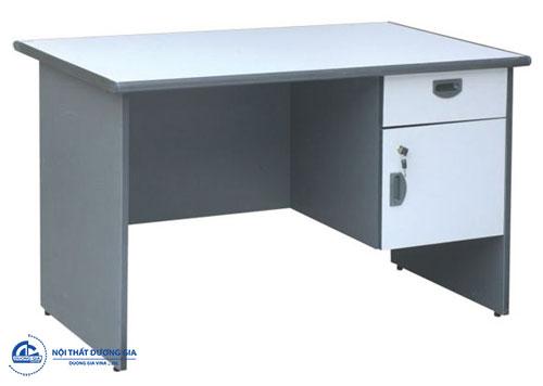 Mẫu bàn làm việc Hòa Phát 1m thiết kế đơn giản HP100HL