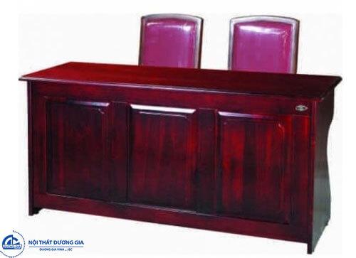Bàn ghế họp hội trường trang nghiêm: bàn BHT15LH2V - ghế GHT10