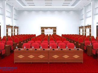 Điểm danh 5 mẫu bàn ghế hội trường bằng gỗ đẹp, sang trọng nhất 2019