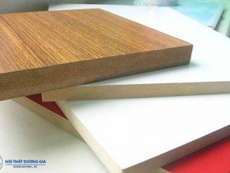 So sánh sự giống và khác nhau giữa gỗ MFC và MDF