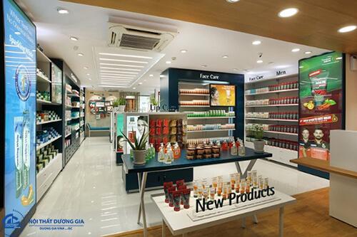 Chi phí và diện tích để thiết kế siêu thị