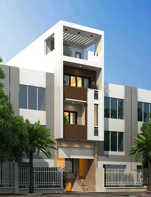 Chọn phong cách phù hợp khi thiết kế nhà ở kết hợp văn phòng cho thuê