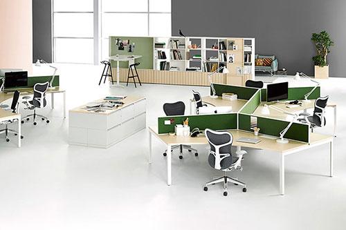Thiết kế văn phòng giúp tạo sự đồng bộ