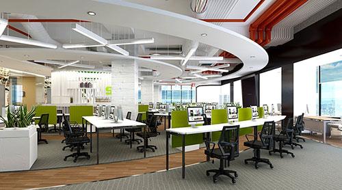 Đơn vị cung cấp dịch vụ thiết kế nội thất văn phòng làm việc uy tín