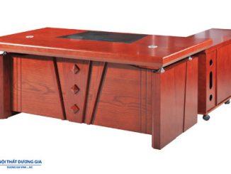 5 mẫu bàn làm việc dài 2m đẹp và sang trọng nhất của Hòa Phát