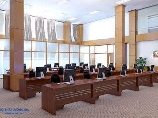 Chia sẻ cách thiết kế nội thất văn phòng tại Thanh Hóa hợp phong thủy