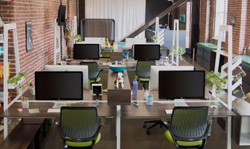 Trang trí văn phòng làm việc nhỏ đảm bảo sự đồng bộ trong không gian