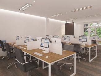 Công ty thiết kế văn phòng làm việc diện tích nhỏ uy tín, giá rẻ tại Hà Nội