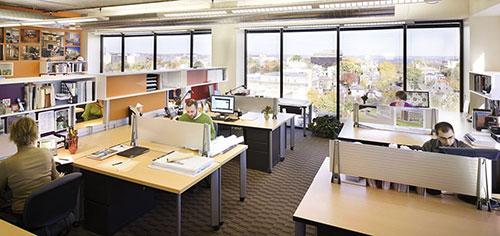 Tại sao nói mô hình văn phòng hiện đại giúp thúc đẩy công việc?