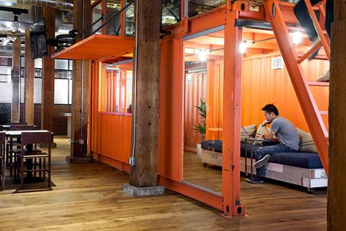 Văn phòngstartup độc đáo