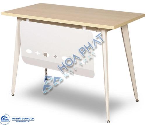 Bàn văn phòng chân sắt mặt gỗ giá rẻ LUX120YC10