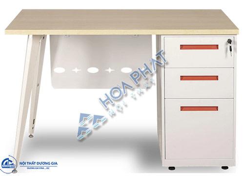Bàn văn phòng chân sắt hiện đại LUX160HLYC10