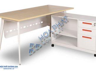 5 mẫu bàn văn phòng chân sắt giá rẻ được lựa chọn nhiều nhất hiện nay